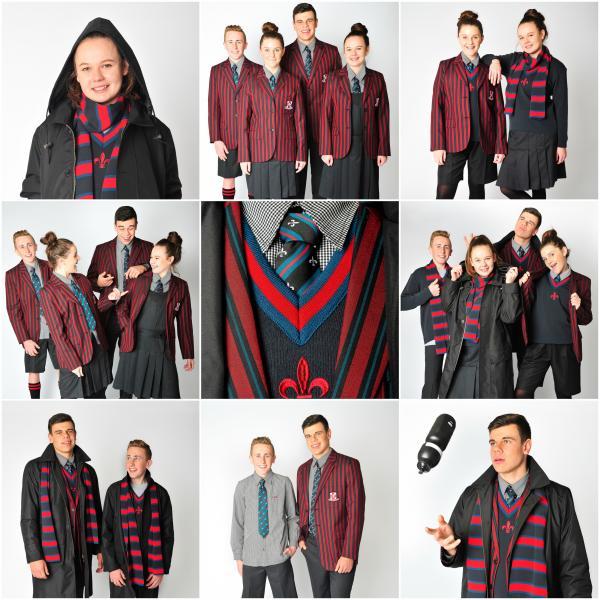 how to wear school uniform
